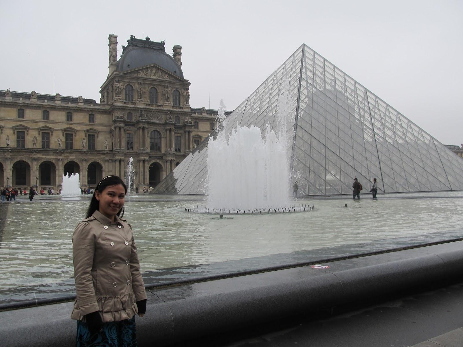Paris France Louvre Museum