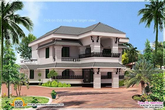 Malabar model house design