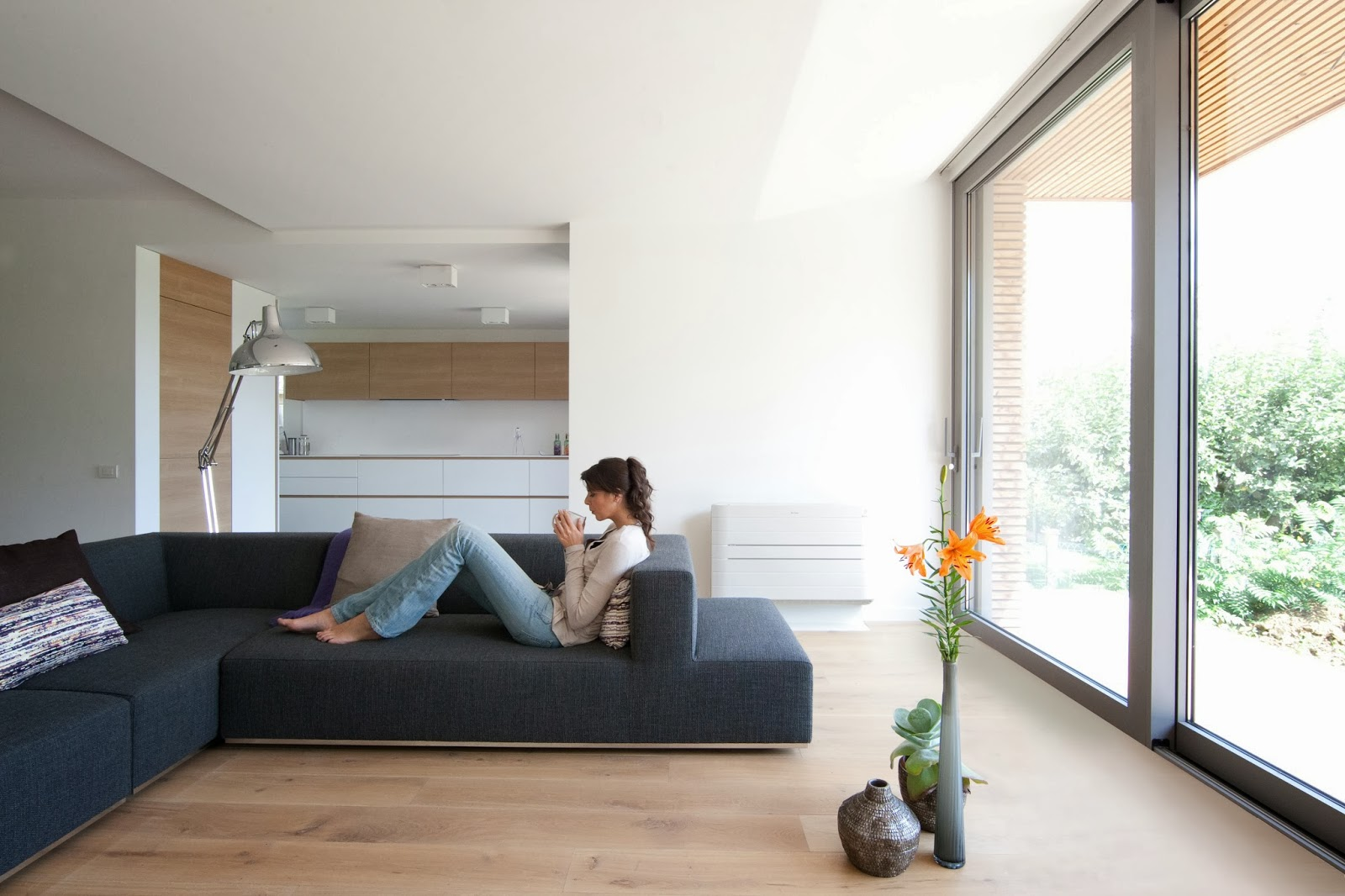 Интериорен дизайн климатици Daikin Nexura