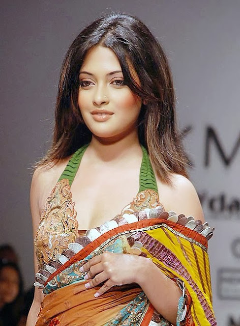 Riya Sen In Saree