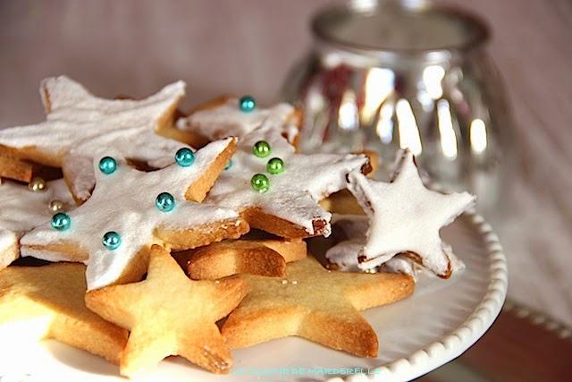 sablés aux amandes recette facile, biscuits de noel