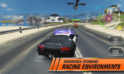 Game NFS Hot Persuit v.1.0.89 Apk Full Crack Android