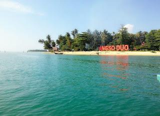 Gambar Pulau Angso Duo