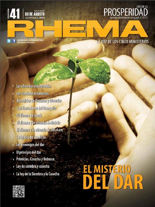 Revista Rhema Agosto 2013