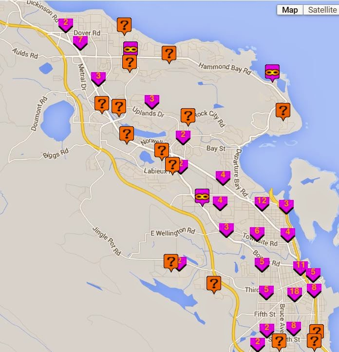 NanaimoInfoblog Nanaimo Crime Map