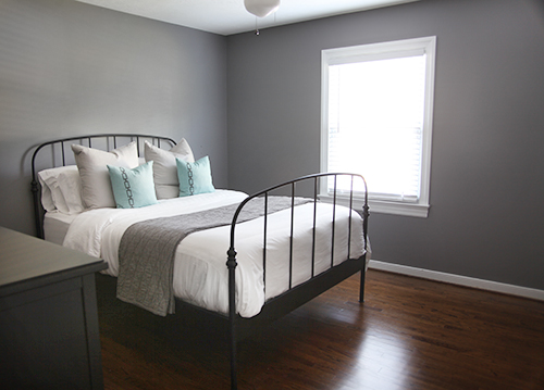 French Grey Blue Paint Color