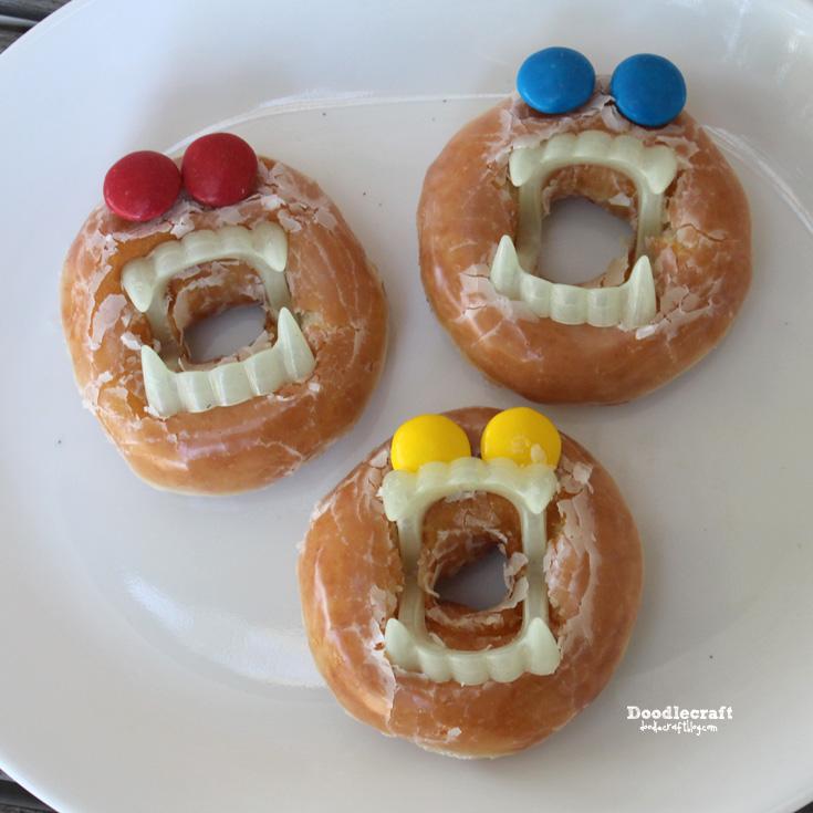 Doodlecraft: Halloween Treats and Vampire Donuts!