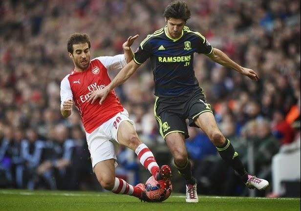 Arsenal vs Middlesbrough 2 0 Giroud Garang