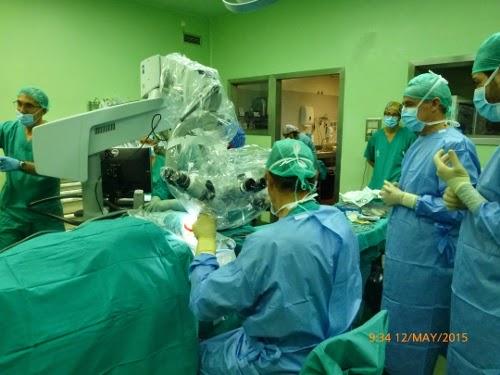 El Hospital de Alicante realiza el primer implante coclear en la provincia