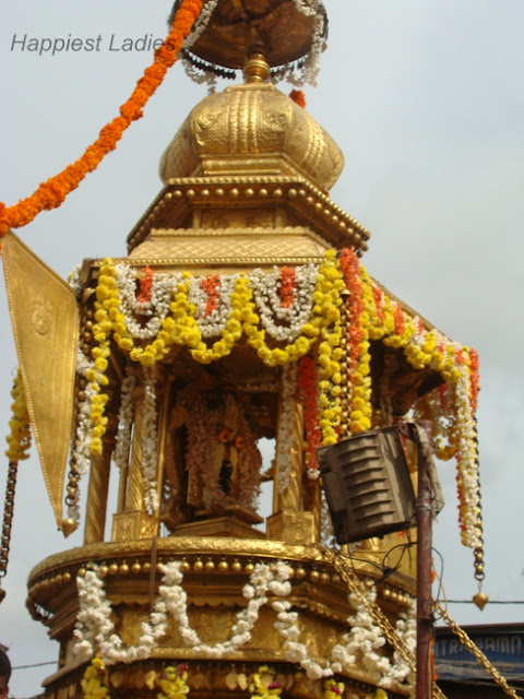 Golden Chariot Procession+festival indian