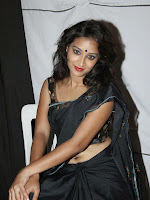 Actress Bhanu Hot photos in black-cover-photo