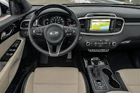 2016 Adventure Kia Sorento all new interior gear