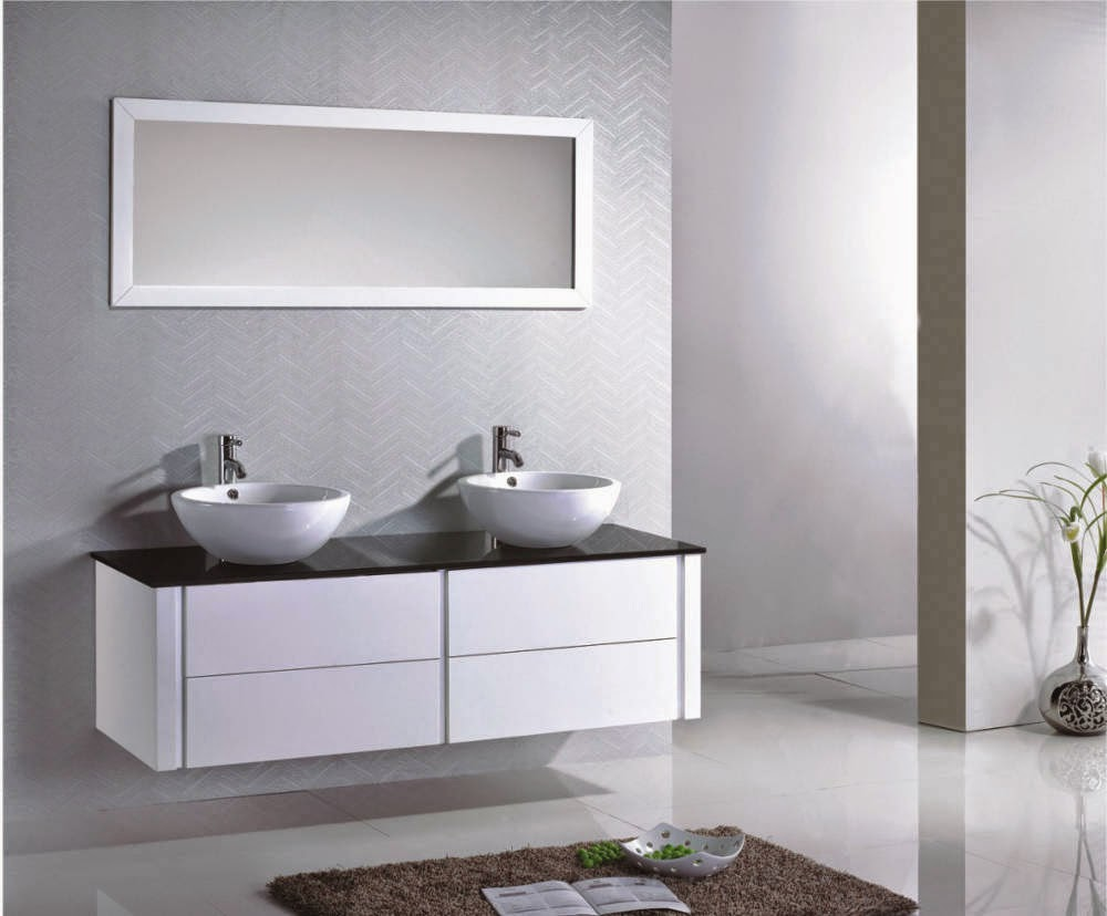 2 vasques salle de bain