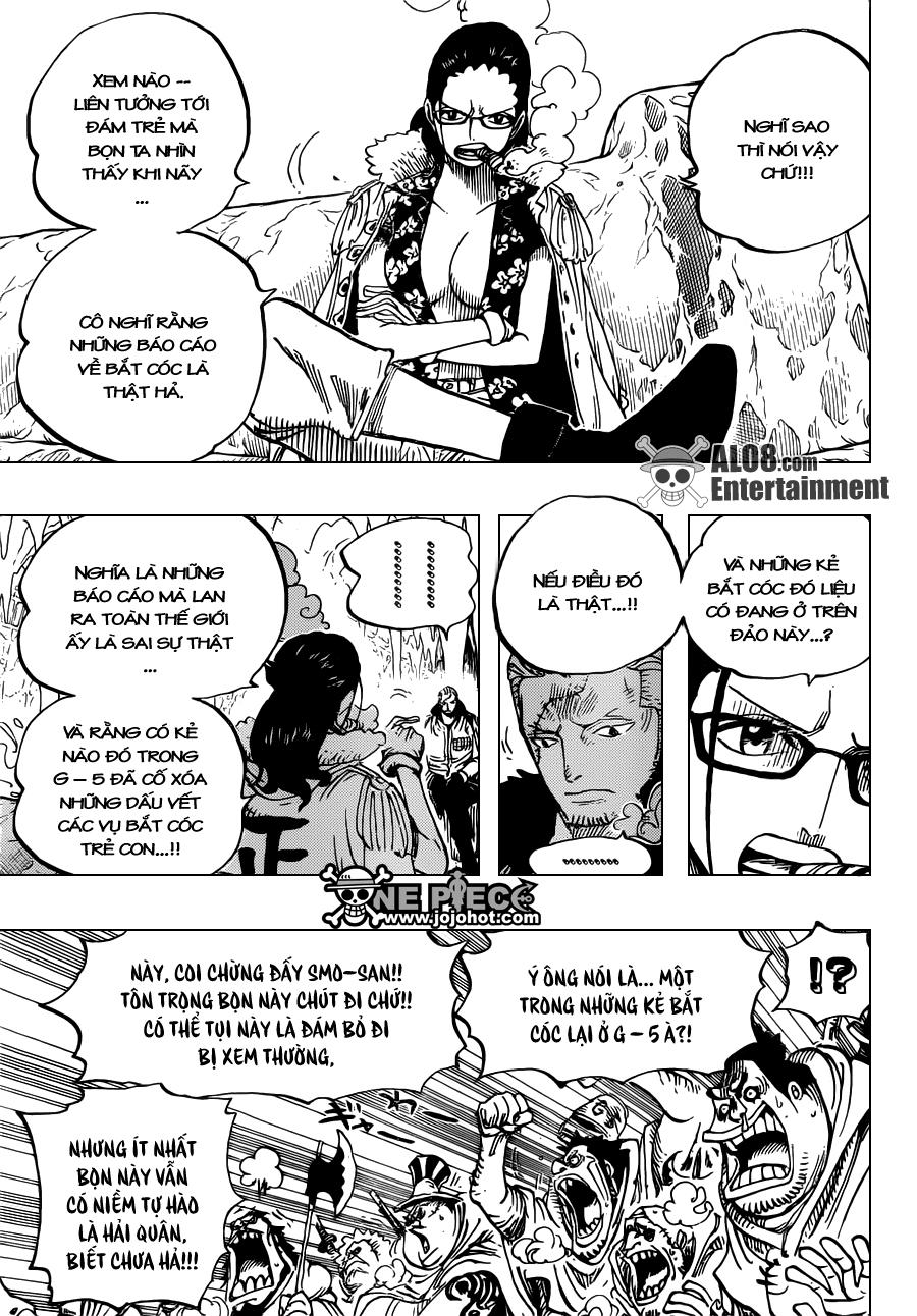 One Piece Chapter 664: Master Caesar Clown 004