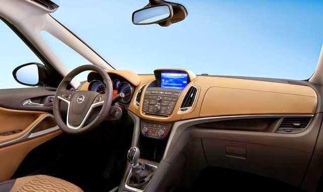 Opel Zafira 2016 Change