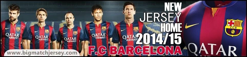 Jersey GO FC Barcelona 2014 - 2015 Nike Home Kit