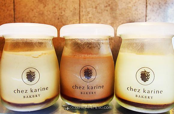 Foodie from the Metro - Chez Karine Bakery Pudding Bottles
