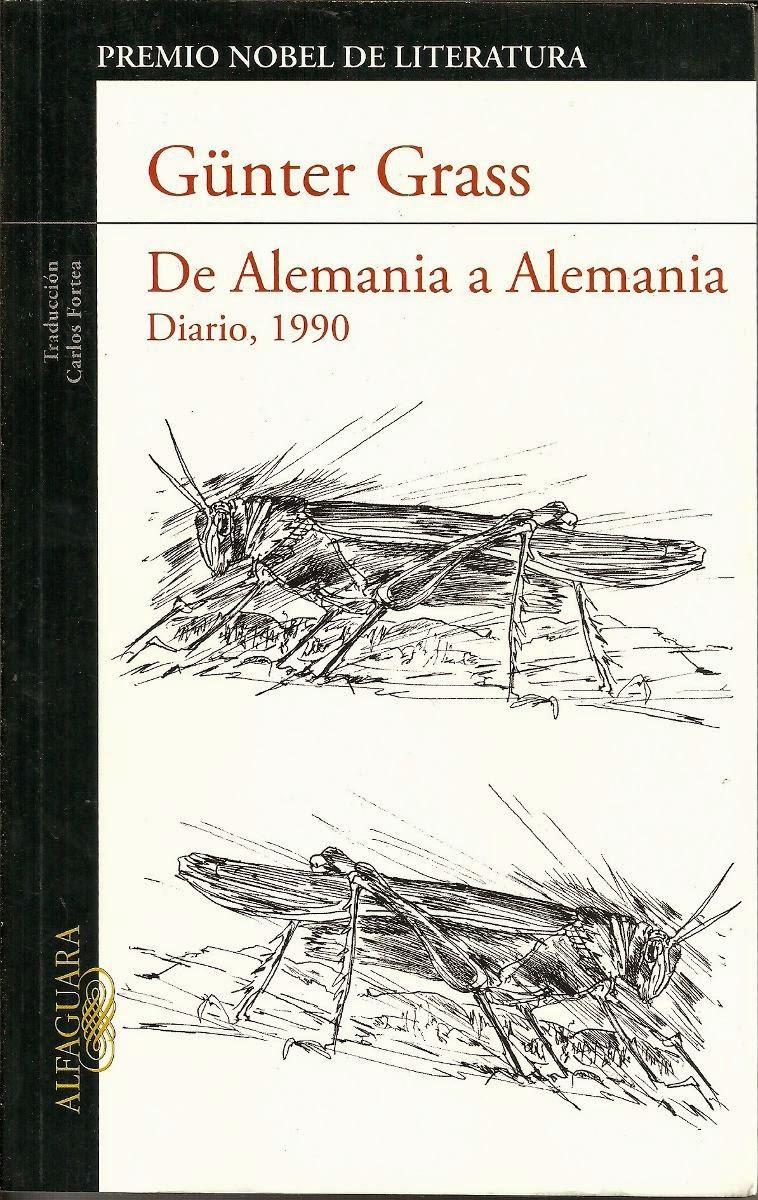 """""""de Alemania a Alemania. Diario, 1990"""" - Günter Grass"""