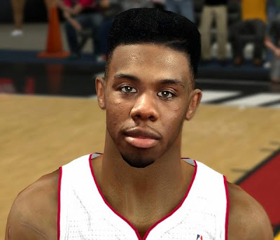 NBA 2K14 Realistic Norris Cole Face Mod