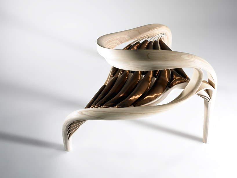 Sculptural wooden furniture by joseph walsh spicytec