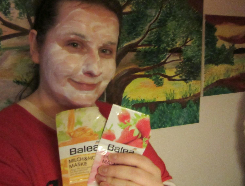 Balea: pleťová maska Jahody a jogurt uvoľňujúca
