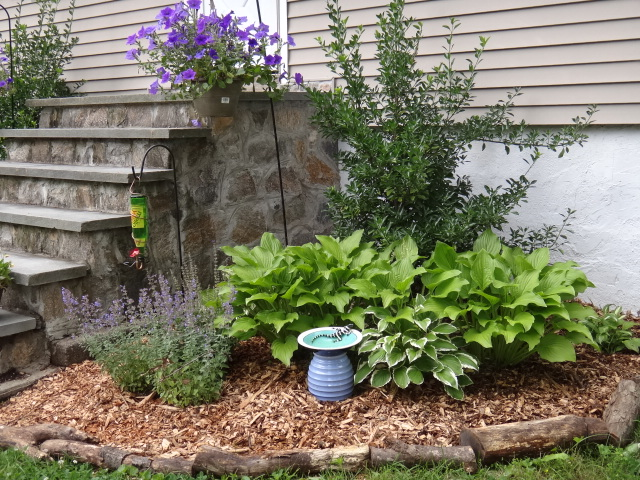 Wood Chip Gardening ~ Upcycled stuff freecycled wood chips