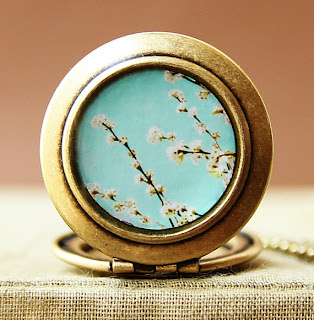 The Sweet Life-Photo Locket Necklace Collaboration with Susannah Tucker - HeartworksByLori