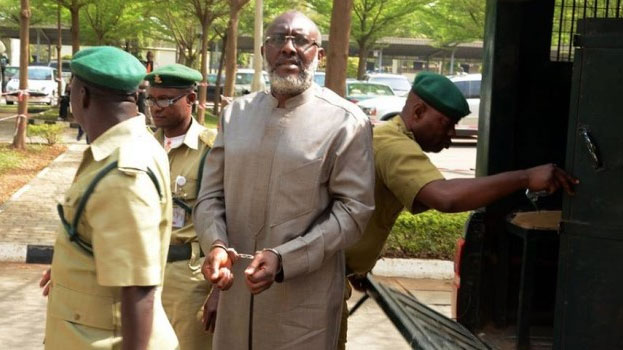 Olisa Metuh's Trial: Judge Blasts Prison Wardens, EFCC For Bringing Accused Late To Court