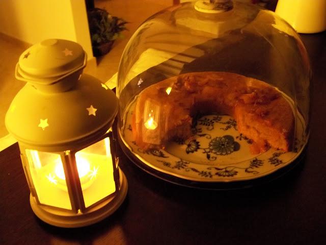 Morbido autunno ♥... Torta con confettura- shabby&countrylife.blogspot.it