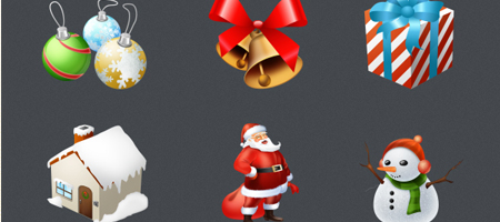 600+ Free Christmas Icons for your Blog and Desktop