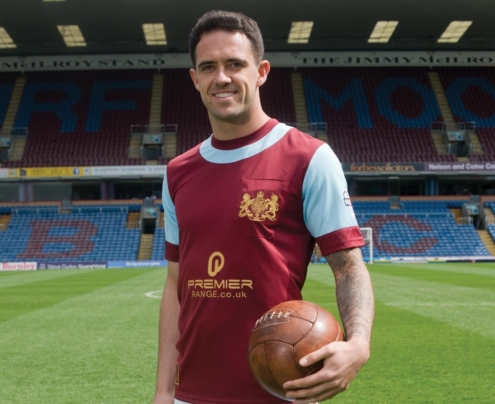 Burnley FC 2014 Special Centenary Kit Released - Footy ...