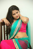 Anusha half saree photos gallery-thumbnail-4
