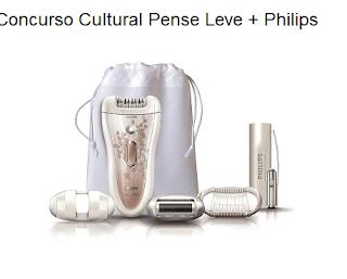Concurso Cultural Pense Leve + Philips