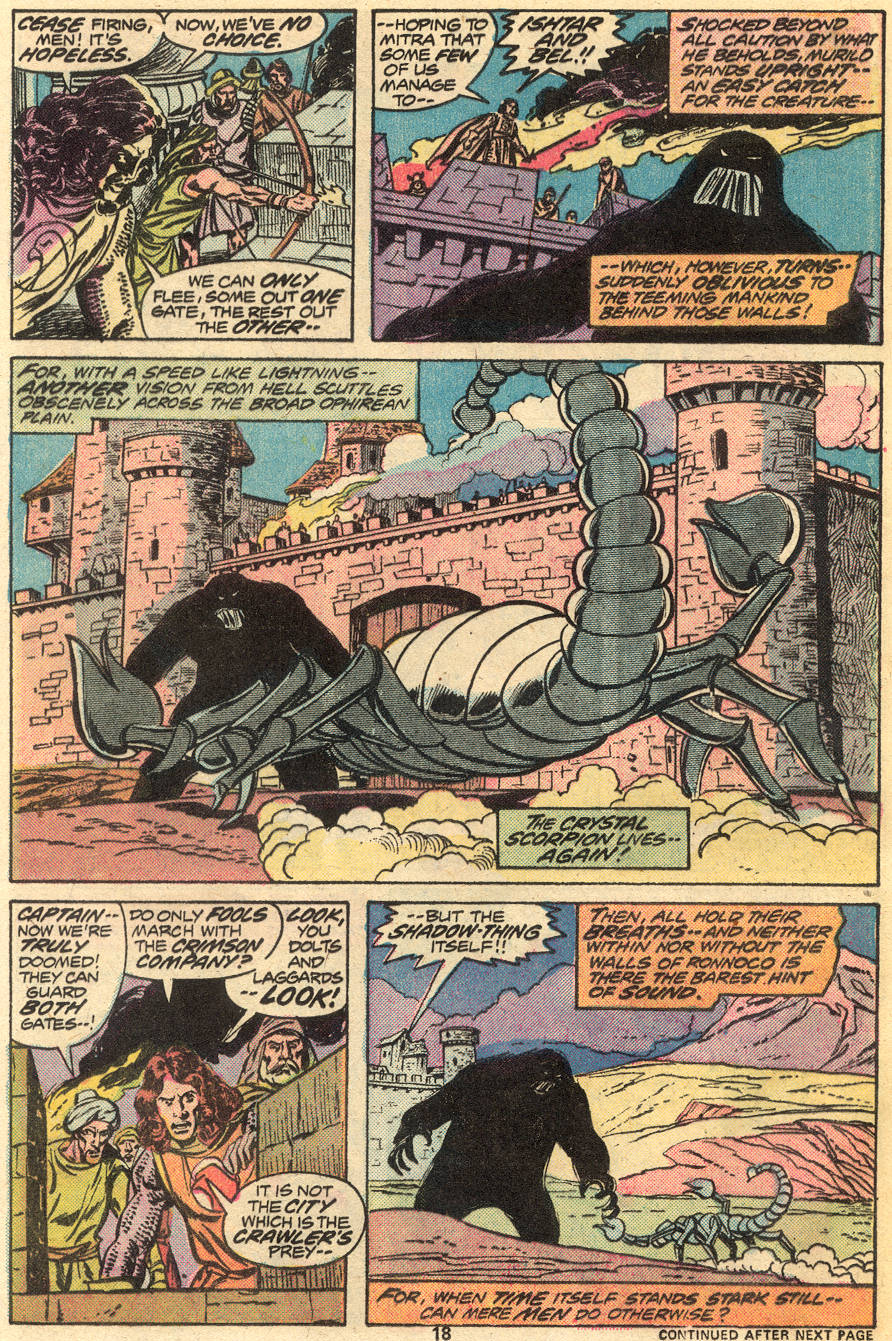 Conan the Barbarian (1970) Issue #55 #67 - English 13