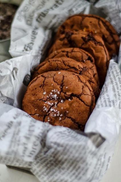 biscotti alla nutella / nutella cookies
