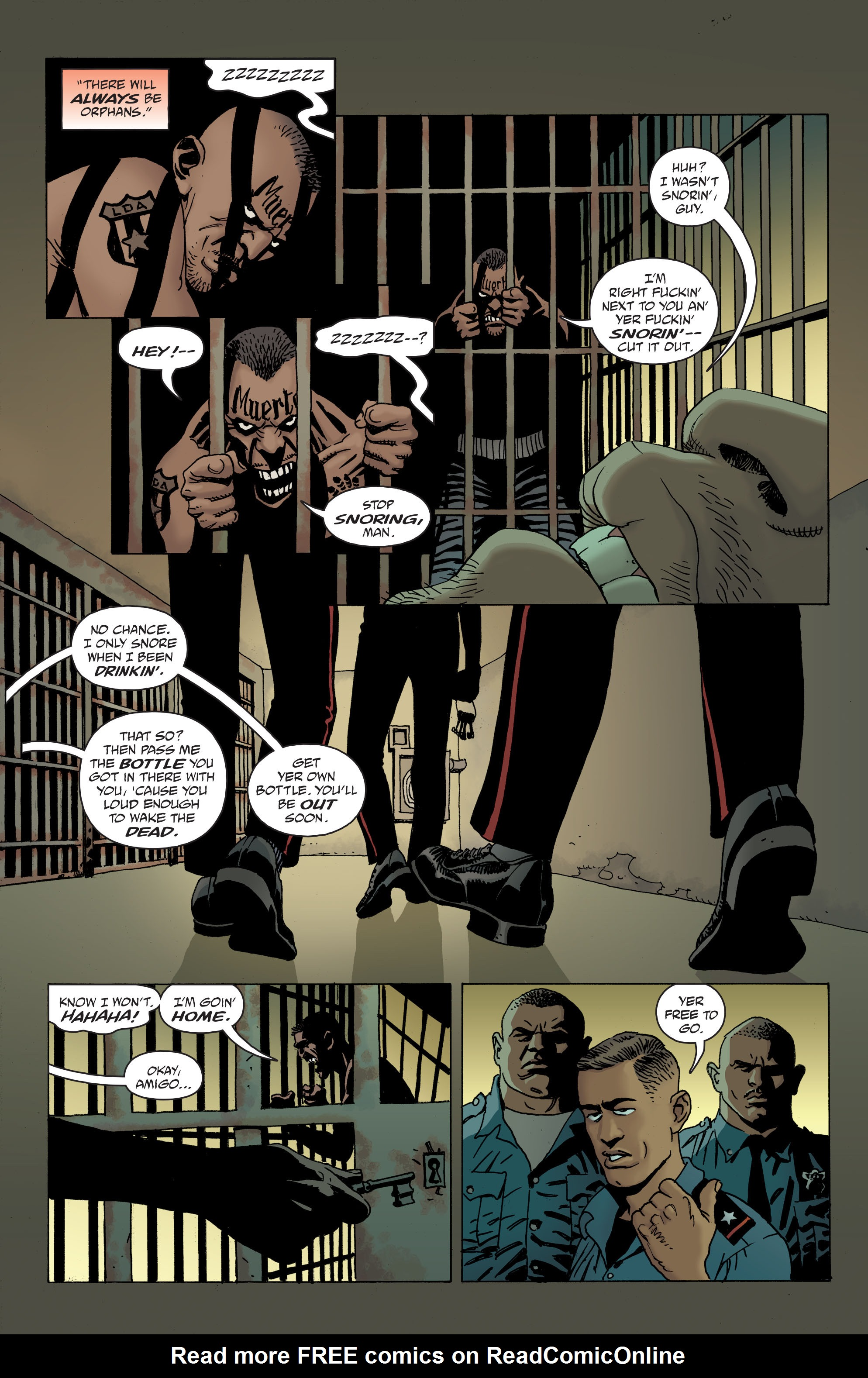 100 Bullets: Brother Lono Full Page 19