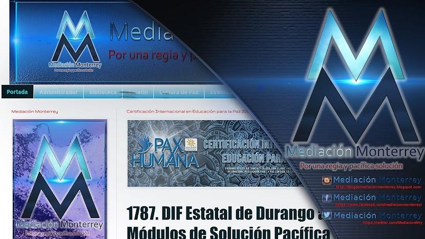 Mediación Monterrey Blogger, Facebook y Twitter