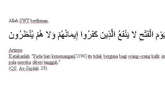 Nama Lain Hari Kiamat Dalam Al Qur'an ~ Uswah Islam