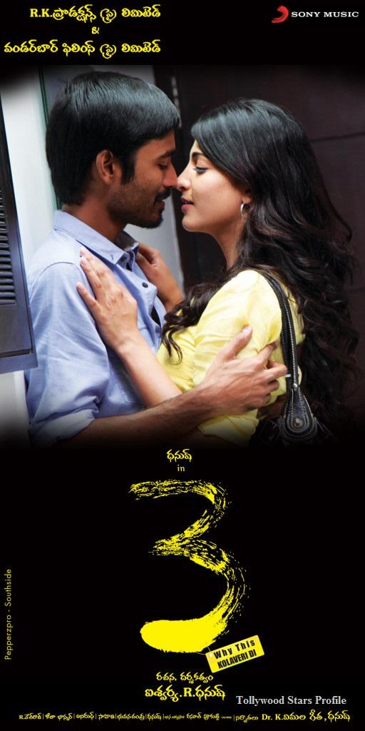 3 Movie Dhanush Telugu Songs Horror Face Paint Tutorial