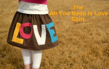 All+You+Need+is+Love+Skirt