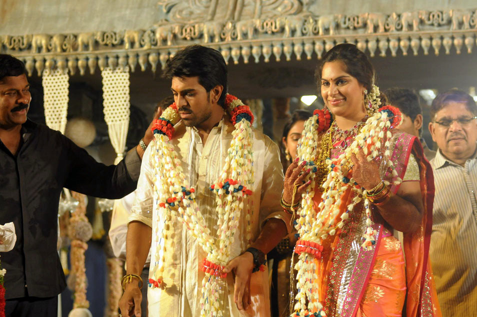 Telugumovieclub Ram Charan Marriage Photos