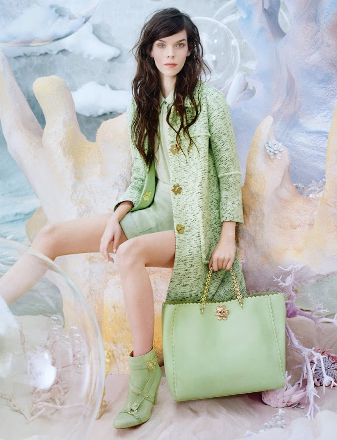 Mulberry S/S 2013 campaign