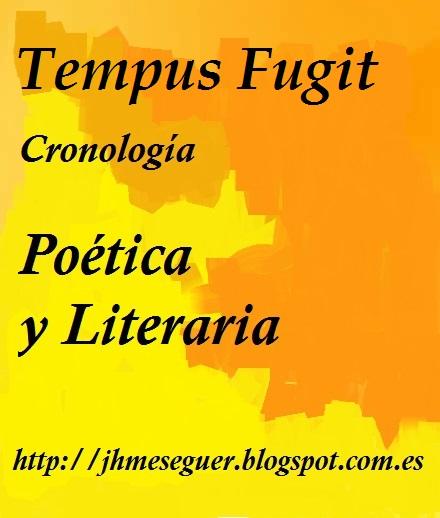 Cronología Poética & Literaria