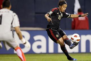 México goleó a Costa Rica Copa de Oro