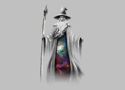 "Threadless The Hobbit ""The Grey Wizard"" T-Shirt"