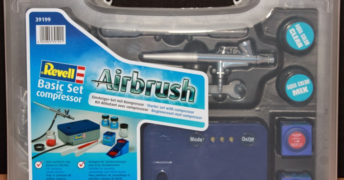 meine modelleisenbahn digitalisiert neuanschaffung revell airbrush basic set. Black Bedroom Furniture Sets. Home Design Ideas