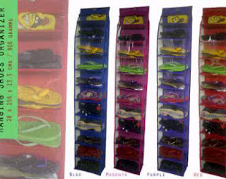 "gambar hanging shoes organizer"" title="
