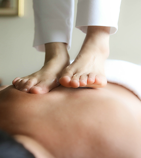 Barefoot Massage at Le Reve Organic Spa and Boutique