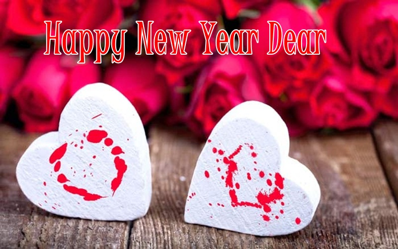 New Year Card for Lover