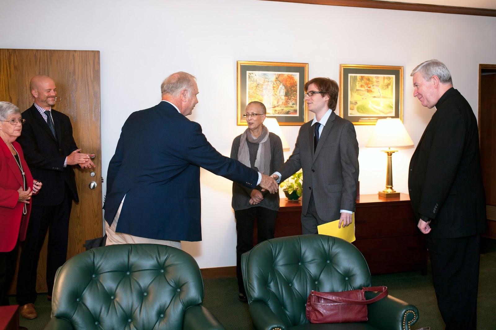 Beinecke Scholarship Winner Honored